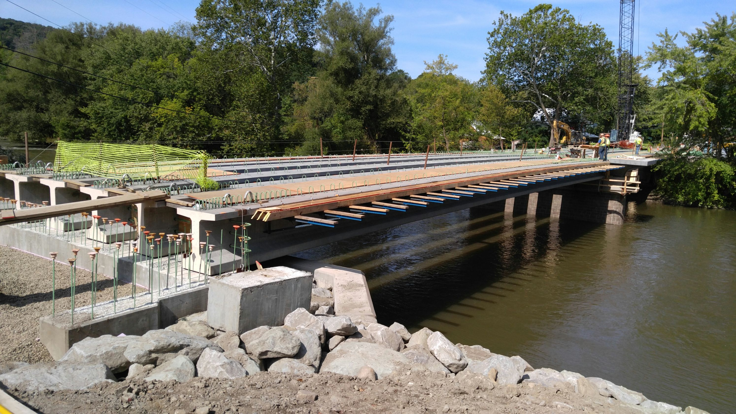 Cofferdam Bridge Lifting Plan