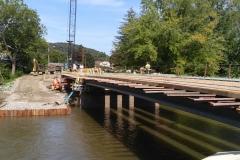 Bridge Demolition Cofferdam Design Beam Lifting Plan