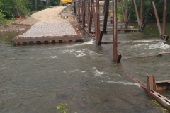Cofferdam Design and Bridge Demolition