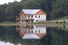 Insulated Concete Form House