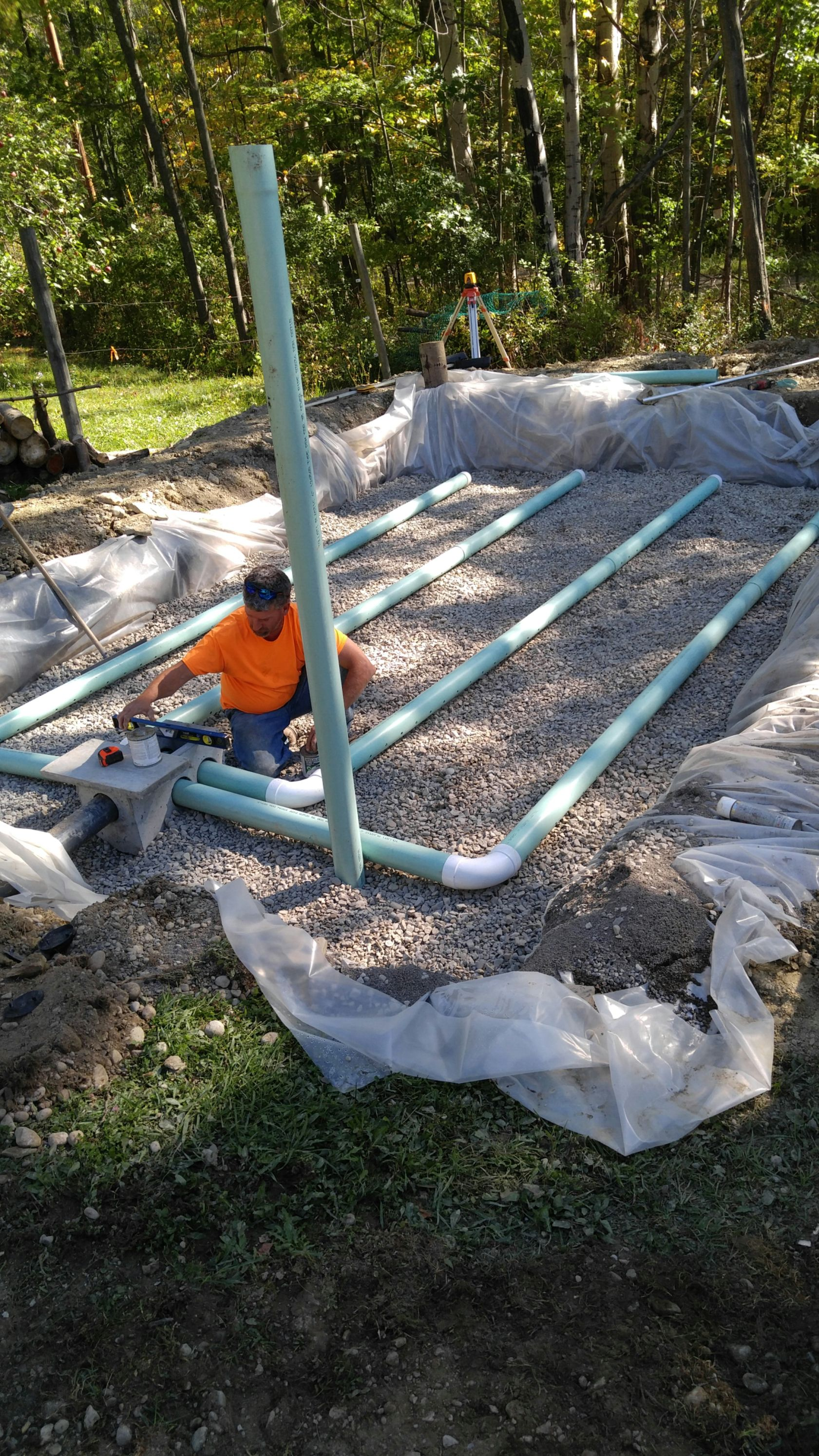Sand Filter Septic Design