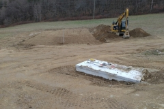 Trench Septic System