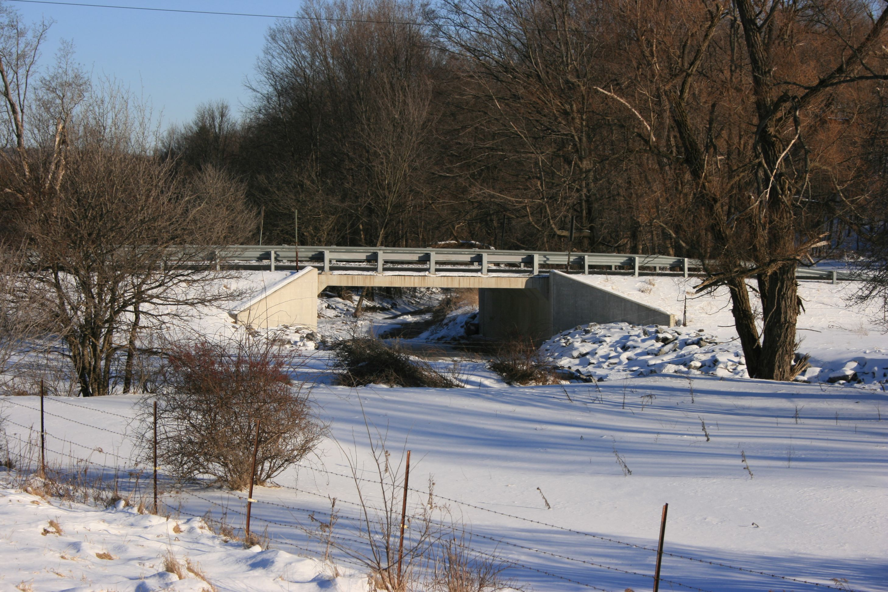 Town of Dix Bridge Design After