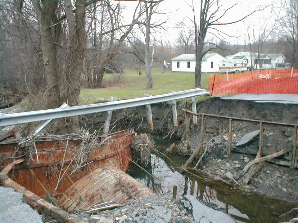 Town of Dix Bridge Replacement Before