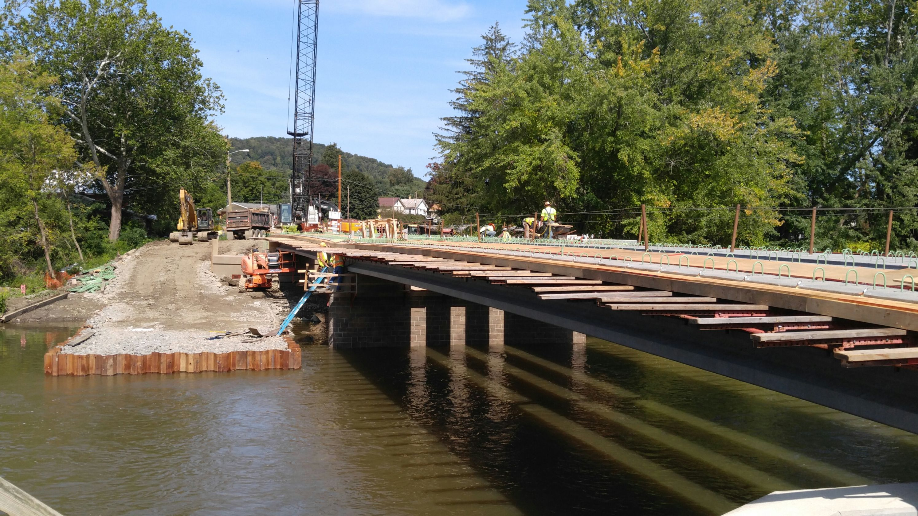 Bridge Demolition Cofferdam Design Beam Lifting Plan