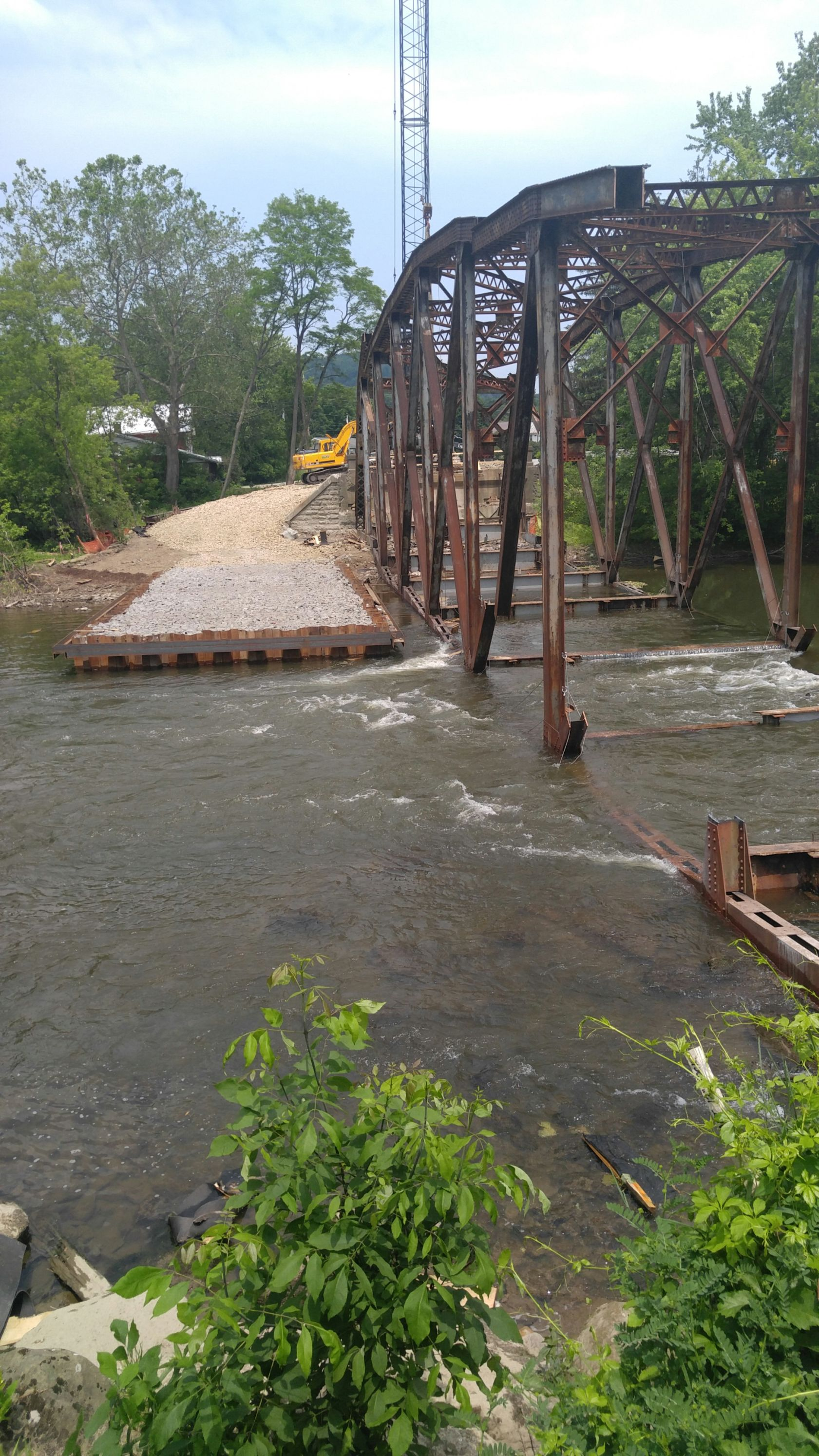 Cofferdam Design and Bridge Demolition