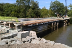 Cofferdam Bridge Lifting Plan